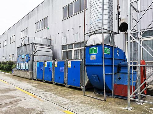 漆彩之星为您浅析工业废气处理设备是如何处理废气