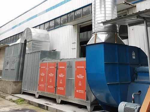漆彩之星浅析废气处理设备安装对工业生产有什么好处